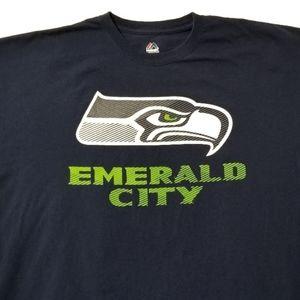 Seattle Seahawks Graphic Tshirt 2016 NFL Football